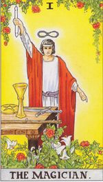 daily tarot card - the magician