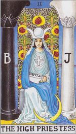 major arcana - the high priestess