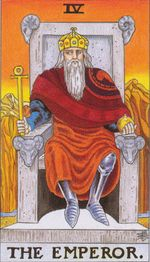 daily tarot card - the emperor