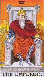 daily tarot card - the emperor