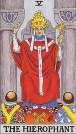 major arcana - the hieropant