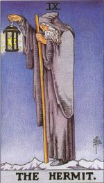 major arcana - the hermit