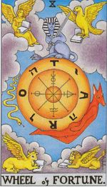 major arcana - wheel of fortune