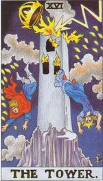major arcana - the tower