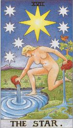 daily tarot card - the star