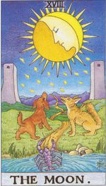 major arcana - the moon