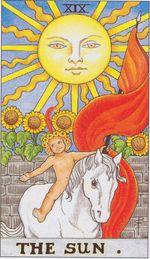 major arcana - the sun