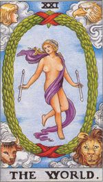 major arcana - the world