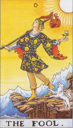 major arcana - the fool